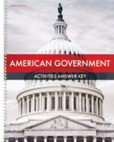 American Government Activity Book Answer Key (4th Edition)