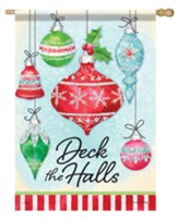 Deck the Halls, Ornaments, Flag, Large