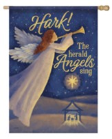 Hark! The Herald Angels Sing Flag, Large
