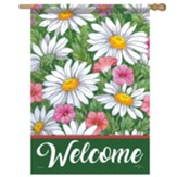 Daisy Field Flag, Large