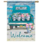 Flower Truck Flag, Large