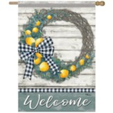 Lemon Wreath Flag, Large