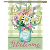 Fresh Mason Jar Flag, Large
