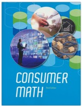BJU Press Consumer Math Student  Edition (3rd Edition)