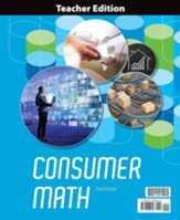 BJU Press Consumer Math Teacher  Edition (3rd Edition)