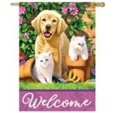 Garden Pals Flag, Large