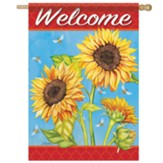 Sunflower Field Flag, Large