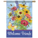 Summer Bouquet Flag, Large