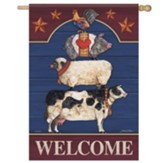 Farm Fresh Flag, Large
