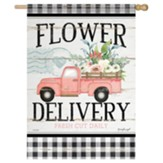 Flower Delivery Flag, Large
