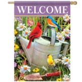 Songbirds Meet Flag, Large