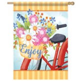 Flower Basket Flag, Large