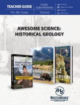 Awesome Science: Historical Geology  Teacher Guide