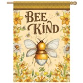 Bee Kind Flag, Large
