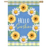 Daisy Wreath Flag, Large