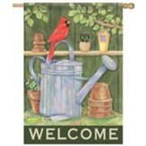 Cardinal Potting Shed Flag, Large