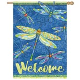 Dragonflies Flag, Large