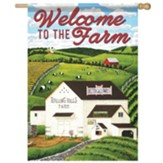 Rolling Hills Farm Flag, Large