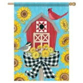 Barn Birdhouse Flag, Large