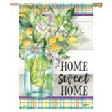 Home Sweet Lemons Flag, Large