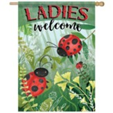 Ladies Welcome Flag, Large
