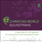 It Matters to the Master, Accompaniment CD