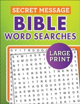 Secret Message Bible Word Searches Large Print