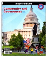 BJU Press Heritage Studies Grade 2 Teacher Edition:  Community and Government (4th Edition)