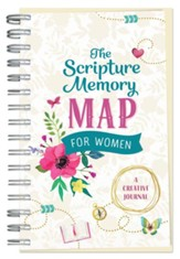Scripture Memory Map for Women: A Creative Journal