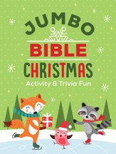 Jumbo Bible Christmas Activity & Trivia Fun: Crosswords, Word Searches, Mazes, Coloring Pages, Trivia & More!
