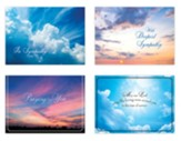 Clouds in the Sky Sympathy Cards, Box of 12