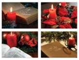 Candlelight Scripture Christmas Cards, Box of 12
