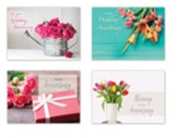 Floral Promises Anniversary Cards, Box of 12