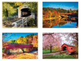 Covered Bridge Get Well Cards, Box of 12