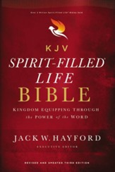 KJV Spirit-Filled Life Bible, Third Edition, Comfort Print--hardcover, red letter edition