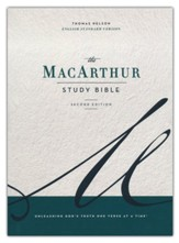 ESV MacArthur Study Bible, 2nd Edition--hardcover
