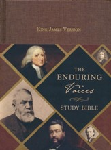The Enduring Voices KJV Study Bible, Cloth over boards