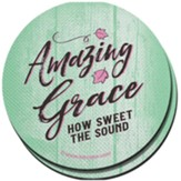 Amazing Grace Car Coasters, Pack of 2
