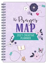 2021 Creative Planner The Prayer Map