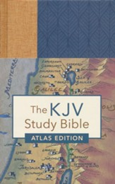 KJV Study Bible: Atlas Edition, Neutral