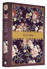 KJV Come Away, My Beloved Devotional Bible, Cloth over  boards, rose garden design