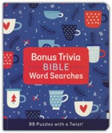 Bonus Trivia Bible Word Searches: 99 Puzzles with a Twist!