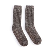 Men's Slipper Socks - Espresso