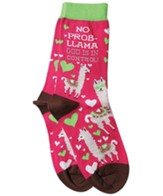 No Prob-Llama, God is in Control Socks
