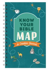 Know Your Bible Map [general cover]: A Creative Journal