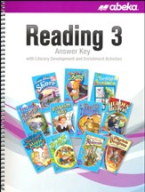 Abeka Reading Answer Key--Grade 3