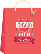 Pensando en ti bolsa de regalo, mediana (Thinking of You Medium Gift Bag)