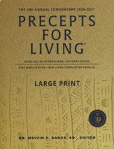 2020-2021 Precepts for Living: The UMI Annual Commentary, Large Print