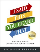I Said This, You Heard That: How Your Wiring Colors Your  Communication-Workbook - Slightly Imperfect