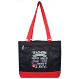 Teachers Encourage Hands Tote Bag